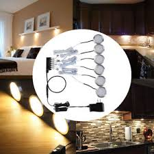 Cabinet lighting 6 Closet Image Is Loading 6packledundercabinetlighting1020lmkitchen Ebay Pack Led Under Cabinet Lighting 1020lm Kitchen Counter Closet Puck