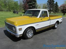 SOLD SOLD – 1971 Chevy Cheyenne C10 Shortbox Â« Ross Customs