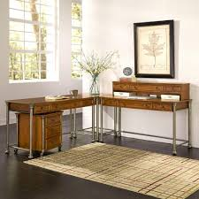 office desk styles. the orleans 3piece vintage caramel office suite desk styles