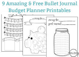 Bullet Journal Template Pdf Bullet Journal Inspired Free Printables Available In Multiple