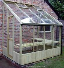 astonishing lean to greenhouse plans free garden how build