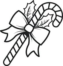 Peppermint Candy Coloring Pages Free Printable Candy Cane Coloring