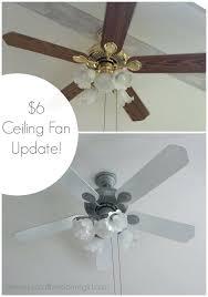 painting ceiling fan update a ceiling fan using spray paint custom painted ceiling fan blades
