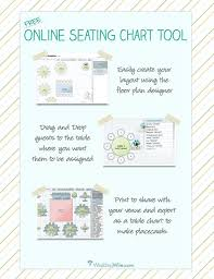 Free Online Seating Chart Planner Wedding Ideas Diy