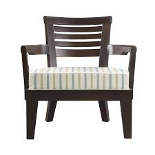 varenna varenna is an outdoor wooden armchair with a fabric or leather cushion from promemoria s outdoor catalogue