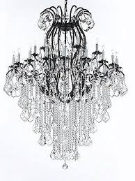 wrought iron chandelier crystal chandeliers lighting empress crystal tm