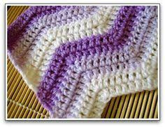 Double Crochet Ripple Afghan Pattern Mesmerizing This Is My FAVORITE Afghan Pattern I've Made Probably 48 Afghans