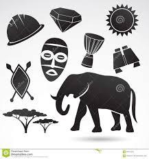 Traditional Symbols Traditional Symbols Of Africa Illustration 66475242 Megapixl
