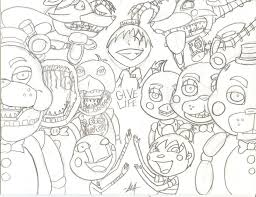 Five Nights At Freddys Drawing At Getdrawingscom Free For