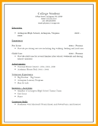 Resume For College Application Fascinating Sample College Application Resume Template Resumes Admission High