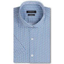 Bugatchi Size Chart Bugatchi Costa Shaped Fit Short Sleeve Button Up Sport Shirt Navy