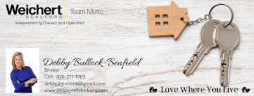 Debby Bullock-Benfield/Hickory, North Carolina Realtor - Home | Facebook