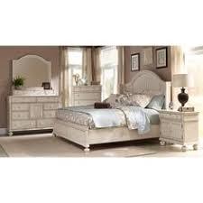 gray pc king panel bedroom laguna antique white panel bed  piece bedroom set overstock shopping b