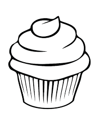 Free Printable Cupcake Coloring Pages For Kids Projects To Try Color