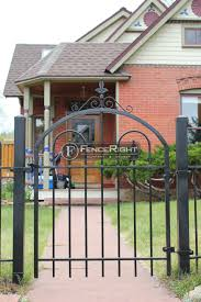 wrought iron fence gate. Gallery Of Wrought Iron Fences Fence Gate Y