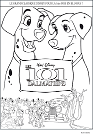 Pages De Coloriage Dalmatiens Dessin Disney