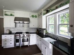 E Image Of Kitchen Paint Colors White Cabinets Black
