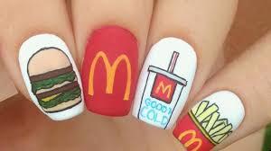 Fast Food Nail Designs New Nail Art Tutorials Compilation 2018 Best Beautiful