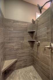 Shower Tiles Ideas walkin tile master shower with corner seat and corner shelves 2 5232 by xevi.us