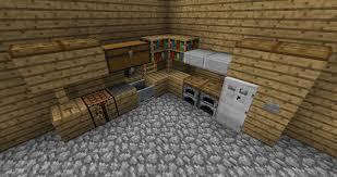 Minecraft Kitchen Minecraft Kitchen Ideas Ps3 House Decor