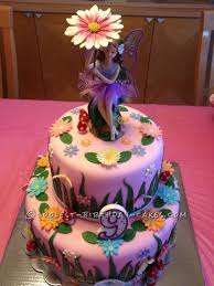 Small Picture Garden Fairy Cake Fairy cakes Birthday cakes and Fairy