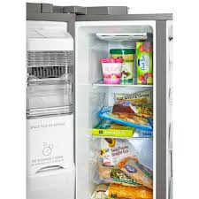 kenmore elite fridge side by side. kenmore elite - 51823 21.9 cu. ft. side-by-side refrigerator with dispenser stainless steel | sears outlet fridge side by