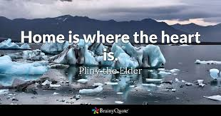 Home Is Where The Heart Is Pliny The Elder BrainyQuote Delectable Home Is Where The Heart Is Quote
