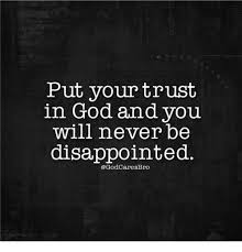 Put Your Trust In God Images