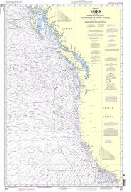 Noaa Navigation Charts Noaa Nautical Chart 501 North Pacific Ocean West Coast Of