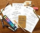 Writing kits for adults