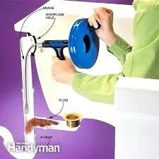 bathroom drain clogged bathtub drain clogged how to unclog a fort