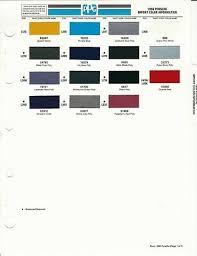 1999 Porsche Color Chips Dupont And Ppg 12 95 Picclick