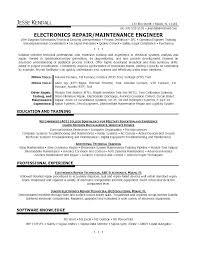 Maintenance Technician Resume Sample Maintenance Technician Resume Sample Lovely Sample Sample Resume For