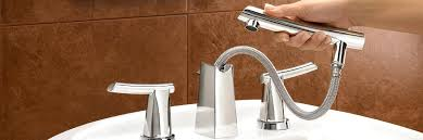 bathtub faucet with sprayer s delta spray handheld shower bathtub faucet