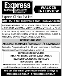 Jobs In Express Clinics Pvt. Ltd., Vacancies In Express Clinics Pvt ...