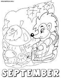 Small Picture Months coloring pages Coloring pages to download and print
