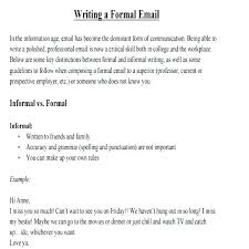 Sample Business Letter Template Example Email Format For