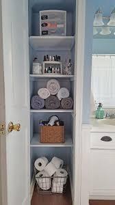 bathroom closet ideas. How To Maximize Your Storage Space With Simple Linen Closet Organizational Ideas. Bathroom Ideas