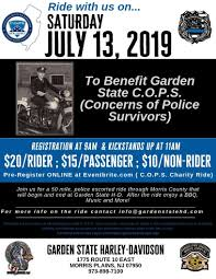 garden state c o p s charity ride