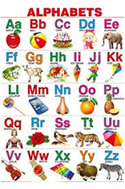 Buy English Alphabet Chart For Kids 70 X 100 Cm Book