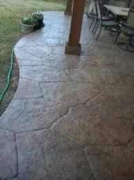patio flooring concrete patio designs