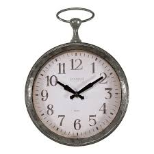 pocket watch wall clock to enlarge