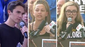 florida massacre survivors demand gun in wake of florida school shooting survivors demand change our