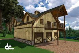 Pole Barn Floor Plans With Living Quarters Loft Barn Plans With Living Quarters Floor Plans