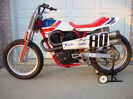 flat tracker motorcycles honda rs 750 motorcycles pinterest