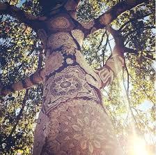 bohemian decorations bohemian decorations lace on trees bohemian wedding decor diy