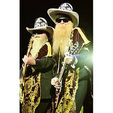 I don't know who the maga hat guy is. Amazon Com Posterazzi Evcpcdzztokg001large Zz Top Billy Gibbons And Dusty Hill In Concert At The Sound Advice Amphitheatre West Palm Beach Fl 5 7 2003 By Kraig Geiger Photo Print 16 X 20 Multi Posters