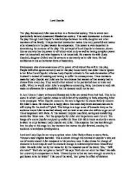 lord capulet the play romeo and juliet was written in a  page 1 zoom in