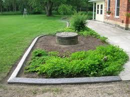 garden edging stone. Stone Garden Edging Ideas F