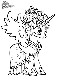 Small Picture My Little Pony Friendship Is Magic Coloring Pages Luna Coloring